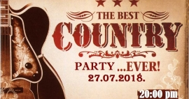 U petak 17. Country party u Jankovićima, očekuje se bogat zabavni program